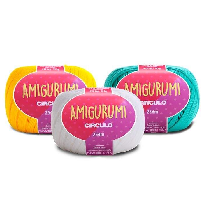 Kit Linha Amigurumi Círculo - Top 12 cores | Amigurumi, Cores ... | 700x700